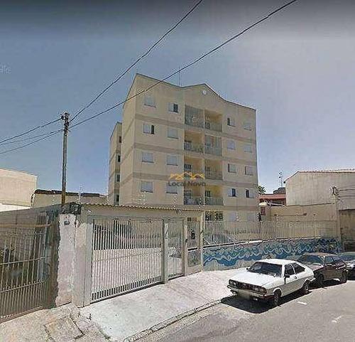 Apartamento Com 2 Dormitórios À Venda, 57 M² Por R$ 210.000 - Jardim Angélica - Guarulhos/sp - Ap0887