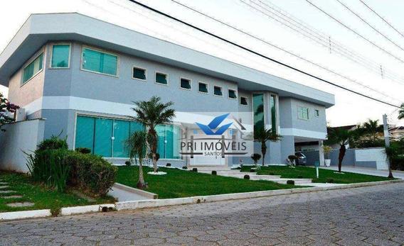 Casa À Venda, 1260 M² Por R$ 5.700.000,00 - Acapulco - Guarujá/sp - Ca0007