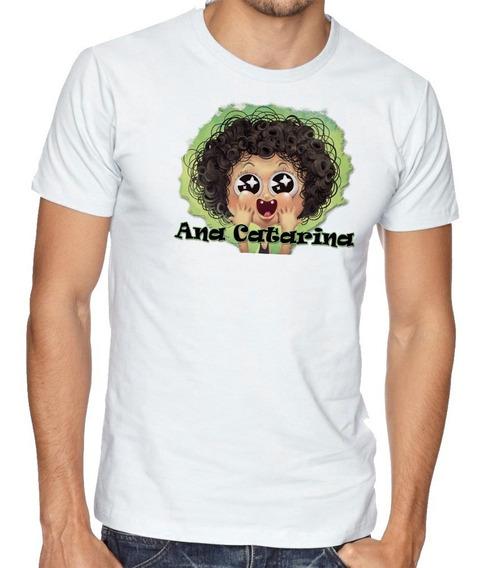 Camiseta Camisa Blusa Raglan Irmão Do Jorel Ana Catarina