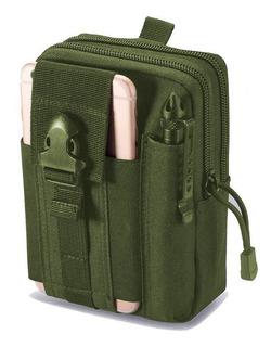 Mochila Bolso Táctico Militar, Multifucional Del Celular Monedero Campista Senderismo Sistema Molle Cintura Compacta Gjp