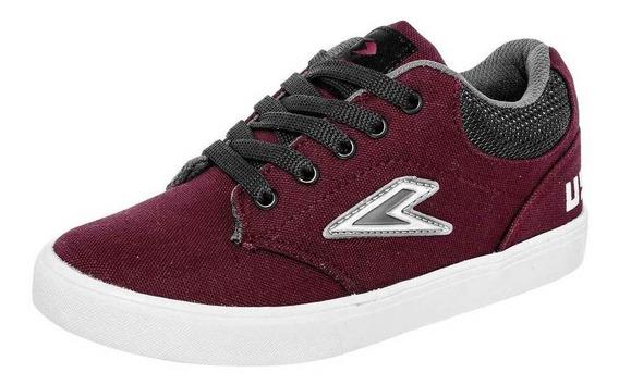 Tenis Celex 145 Color Vino Niño Shoes Pk