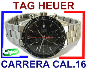 Tag Heuer Carrera The Legend Crono Cal.16 Ref.: Cv2014-2 !