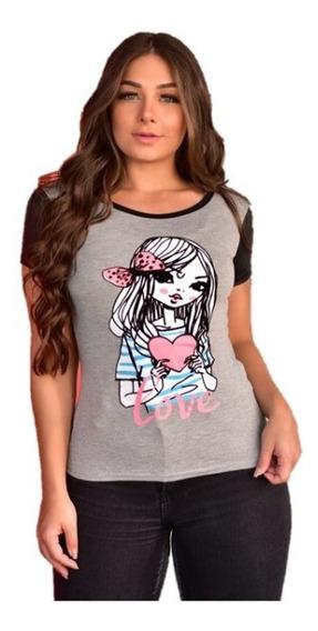 Kit 30 Camisetas Feminina,t-shirt, Babylook,revenda,atacado