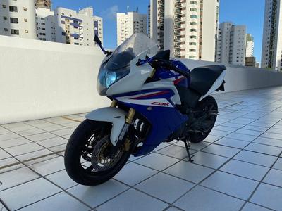 Honda Cbr 600f 2013 Azul - 4.364 Kms Rodados