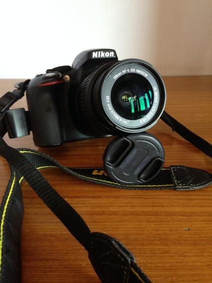 Câmera Nikon D5300 Semi Nova Com 38k De Cliks