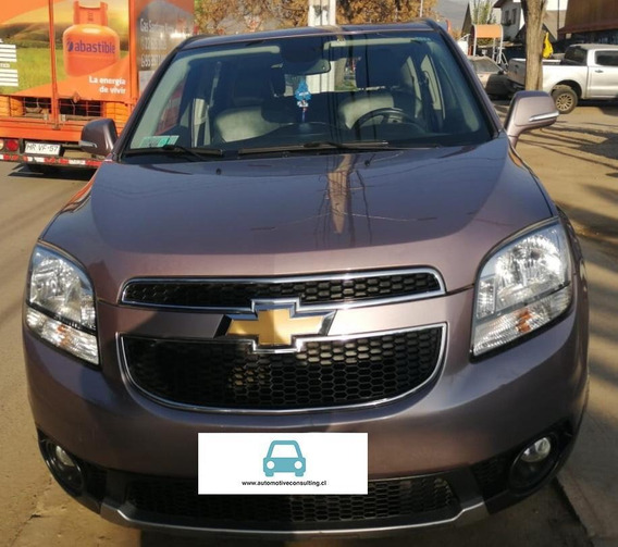 Chevrolet Orlando Lt 2.4 At 2016 Top De Linea