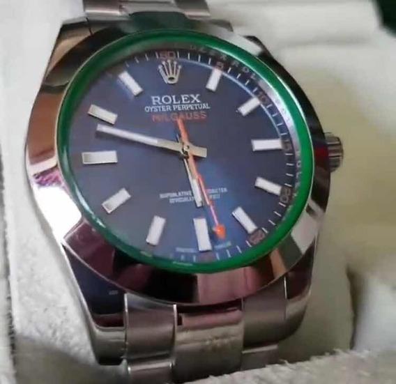 Relógio Rlx M.i.l.g.a.u.s, Automático, Vidro Safira,novo