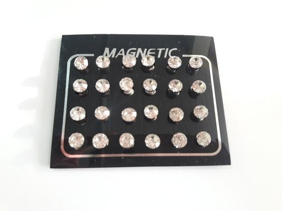 Brinco De Imã Masculino Magnético Atacado 12 Pares