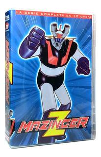 Mazinger Z Serie Completa 10 Discos Original Y Nueva Dvd