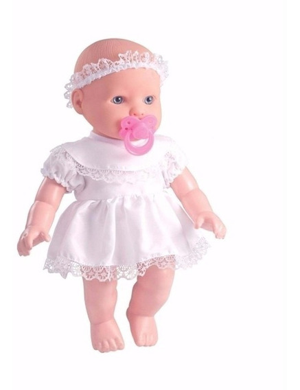 Boneca Little Baby Minha Primeira Oração - Milk Brinquedos