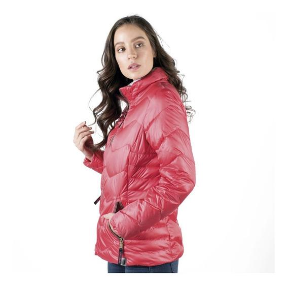 Chamarra Mujer Greenlander Pol6864 Corta Capitonada