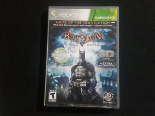 Batman Arkham Asylum Game Of The Year Goty