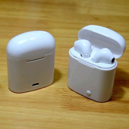 2 Pack Audífonos Bluetooth I7s Tws