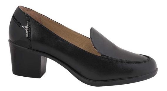 Zapatilla De Vestir Manet Negro Mujer -a78790
