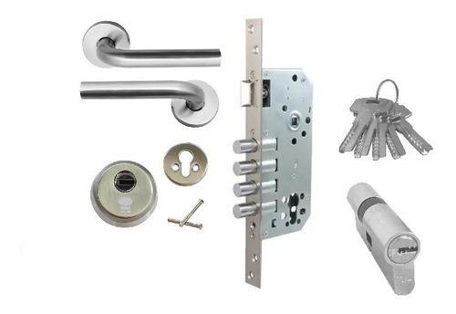 Cerradura Chapa Kit Seguridad 3202a