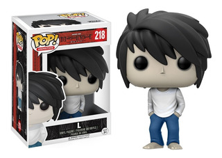 Funko Pop! Anime Death Note - L #218 Pronta Entrega