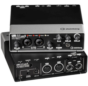 Interface De Áudio Steinberg Ur22 Mk2 Mkii Usb Audio/midi