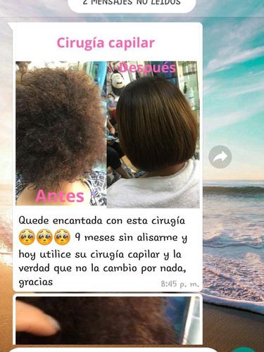 Cirugía Capilar Alisa Hidrata Y Restaura Tu Cabello