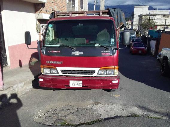 Camión Npr, 2001, Excelentes Condiciones, Rojo.