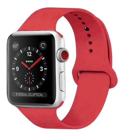 Pulseira Sport Para Apple Watch 38mm 42mm Colors