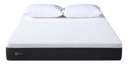 Colchón Sleep Box 200x200 Con Memory Foam Alta Densidad