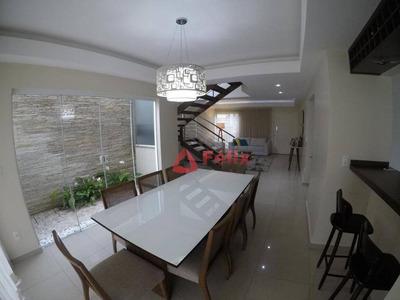 Sobrado Com 3 Dormitórios À Venda, 200 M² Por R$ 750.000 - Condomínio Hípica Pinheiro - Taubaté/sp - So0699
