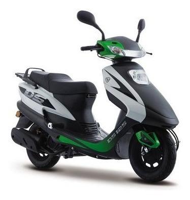 Motoneta Italika Ds125 Barata + Casco Gratis ¡oferta!