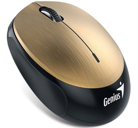 Mouse Optical Genius Nx-9000bt 3 Botões 1200dpi Gold