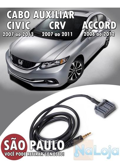 Cabo Auxiliar Para Honda Civic New Civic Crv Accord