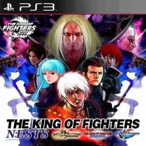 The King Of Fighters Nests Kof 99 2000 2001 - Jogos Ps3