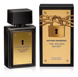 Perfume Hombre Antonio Banderas The Golden Secret Edt X100ml