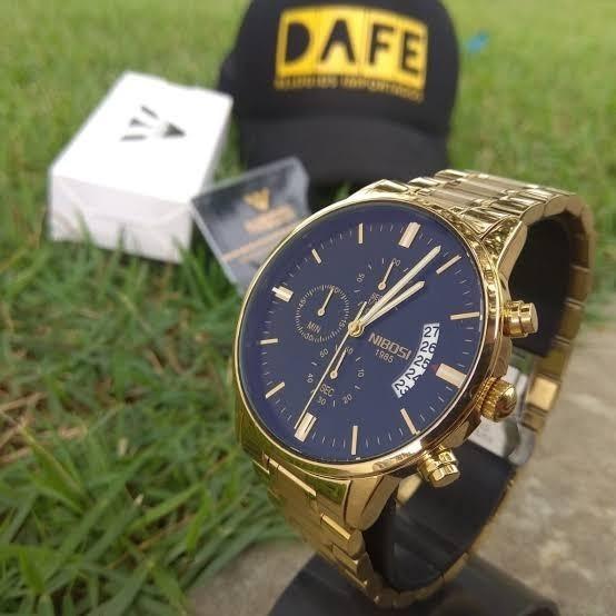 Relógio Masculino Nibosi Original 100% Funcional Promoção