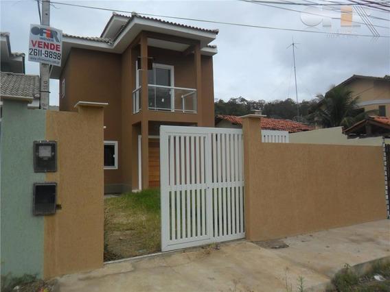 Ótima Casa Duplex De Primeira Locação Em Itaipu - Ca0617