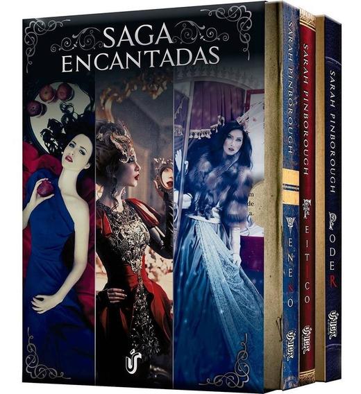 Box Saga Encantadas Edição Econômica (3 Livros)