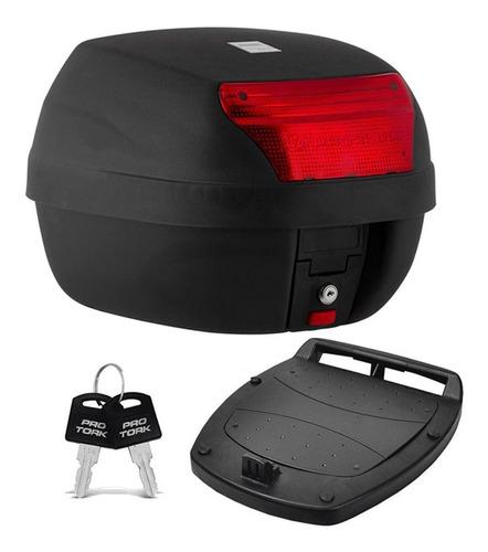 Bauleto De Moto 28 Litros Pro Tork Smart Box Bau Motocicleta