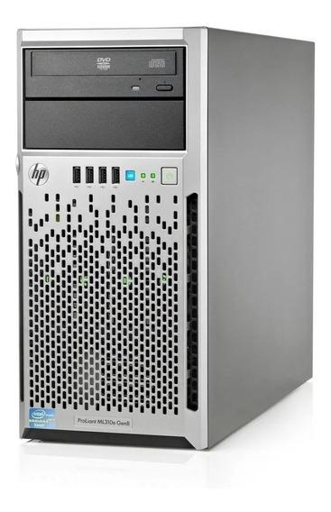 Servidor Hp Ml310 G8 V2 Xeon E3-1220 V2 8gb Ram - Original