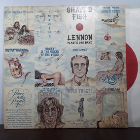 Vinil Lp John Lennon Shaved Fish Lennon Plastic One Band