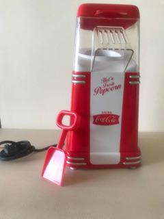 Mini Máquina Para Hacer Cotufas Coca Cola De Aire Caliente