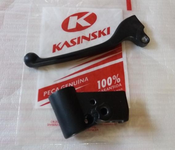 Manete+manicoto Freio Kasinski Prima 150 Original Novo!!
