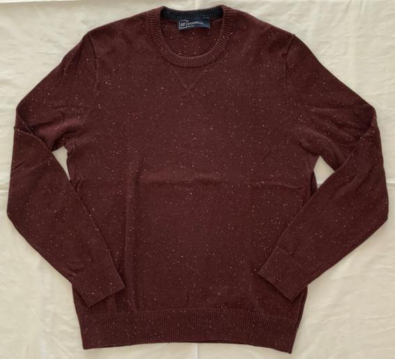 Gap. Sweater Violeta Oscuro Hombre. Talle M