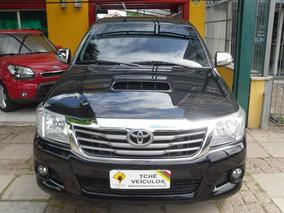 Toyota Hilux 3.0 T. Diesel 4x4 Autom. Top 2015 Preta