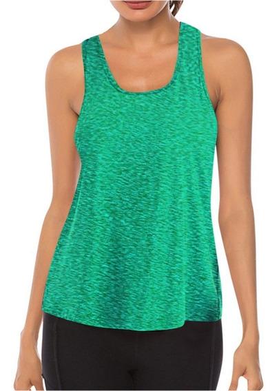 Camisa De Fitness Feminino Colete De Costura De Malha Yoga S
