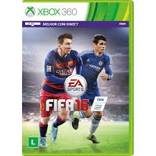 Jogo Fifa 16 Xbox 360 Midia Fisica Original