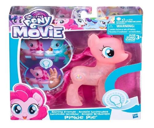Imagem 1 de 8 de Boneco My Little Pony O Filme Amigos Brilhantes Pinkie Pie