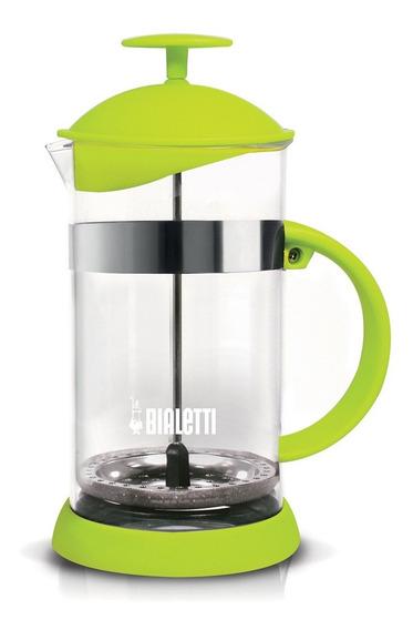 Cafetera Prensa Francesa Bialetti 1 Litro Verde Vidrio