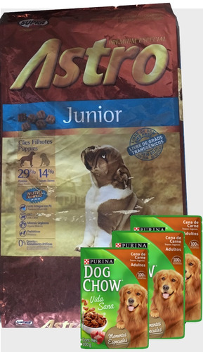 Comida Astro Junior De Frost !! 15  Kg+ Regalo Racionya