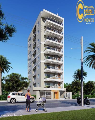 Apartamento  Com 3 Dormitório(s) Localizado(a) No Bairro Itacolomi Em Balneário Piçarras / Balneário Piçarras  - 590
