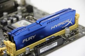 Memória Gamer Kingston Hyperx Fury Ddr3 4gb 1333 Azul Genuin