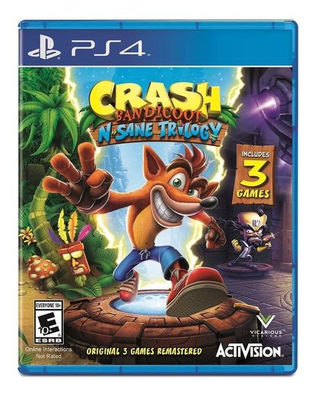 Crash Triology Ps4 Code Digital