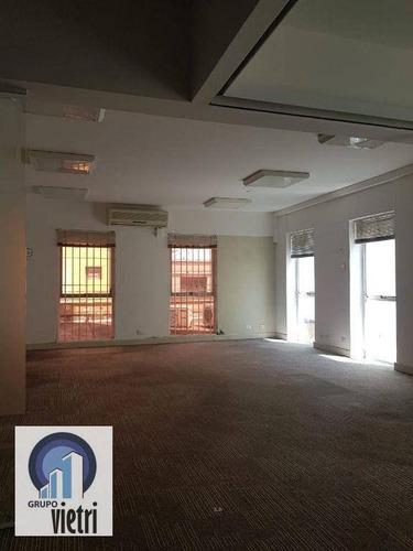 Sala Para Alugar, 80 M² Por R$ 2.050,00/mês - Vila Romana - São Paulo/sp - Sa0109
